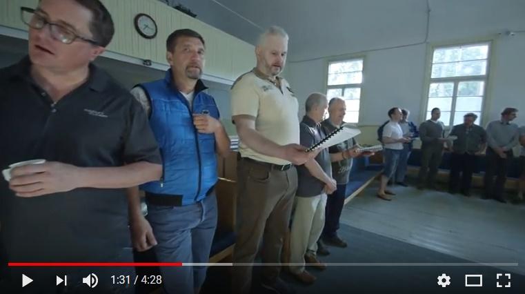 Meestehommik Nõmme Baptistikoguduses