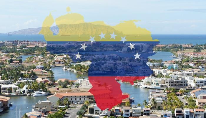 Venezuela - maa ja lipp