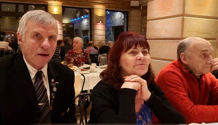Saaremaa koguduste ühine pidulik õhtusöök Kaali trahteris jaanuar 2020
