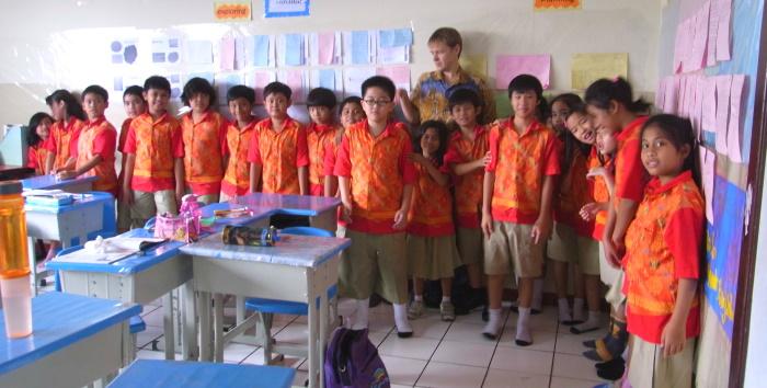 Indoneesias õpetajaks olles